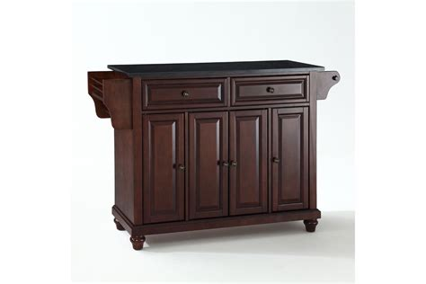 mahogany kitchen island cambridge solid black granite top kitchen island in