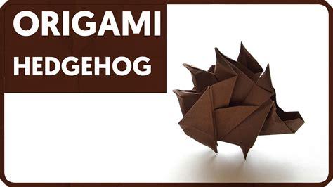 Origami Hedgehog - diagram origami hedgehog sergey yartsev