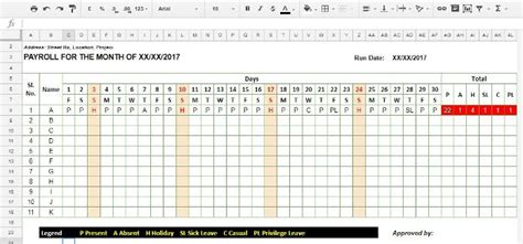 attendance template for google docs how to create a staff attendance sheet using google sheets