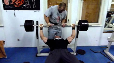 220 bench press 220 kg 462 lbs 5 reps bench press 6 9 2011 youtube