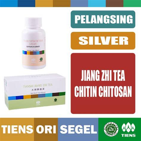 Pelangsing Jiang Zhi Tea tiens tianshi paket pelangsing silver jiang zhi tea