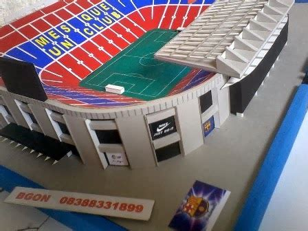 Miniatur C Nou jual pernak pernik bola peralatan futsal sepakbola casual