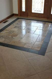 custom entryway tile design tiling pinterest colors