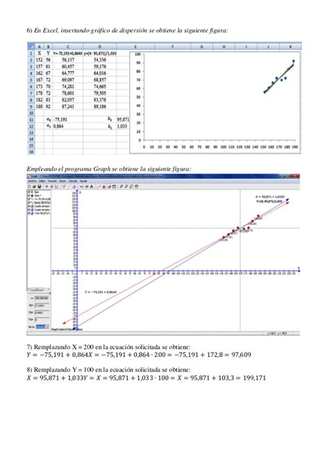 excel minimos cuadrados la recta de los m 237 nimos cuadrados con excel y geogrebra