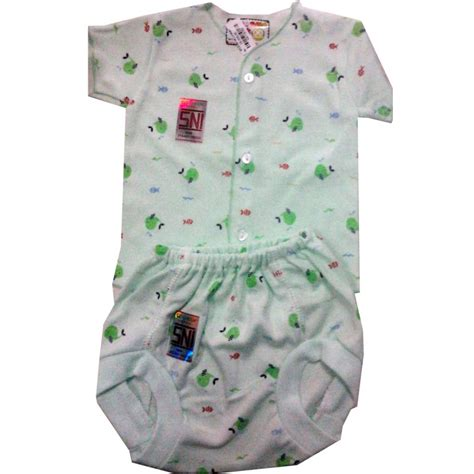 Gendongan Bayi Sni baju bayi baru lahir lengan pendek celana pop hello baby