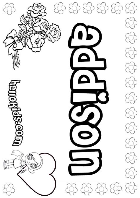 printable coloring pages with names name coloring pages girly name to color
