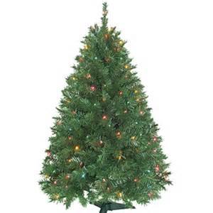 pre lit 4 5 artificial christmas tree artificial