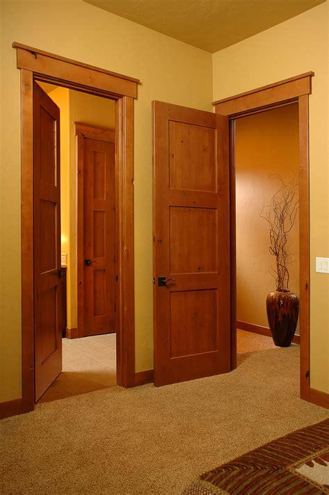 interior doors for homes craftsmen in honey interior door square top rail 3 panel