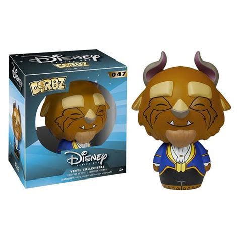 and the beast beast dorbz vinyl figure funko