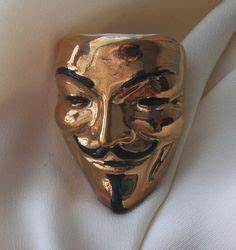 Fawkes Mask Origami - mascaras i and origami on
