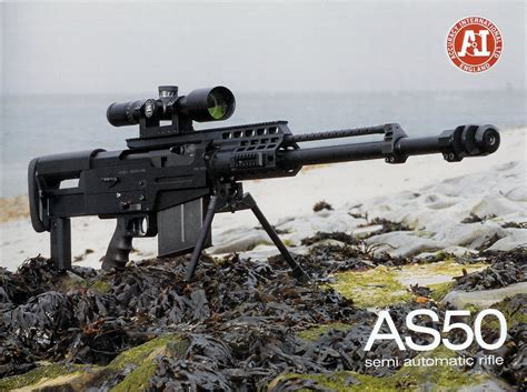 50 Bmg Sniper by Accuracy International As50 Semi Auto 50 Bmg Rifle For U