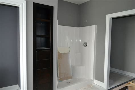 mindful gray bathroom de jong house painting almost done