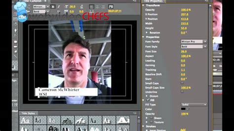 adobe premiere pro lower thirds how to make a simple lower third graphic adobe premiere