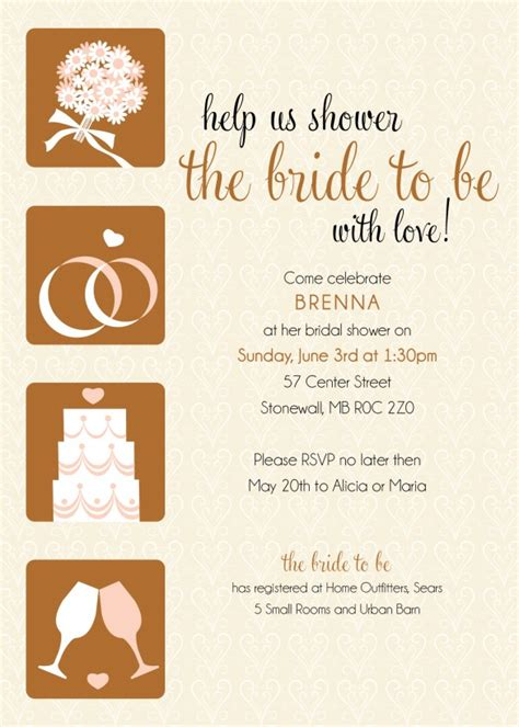 where to get wedding invitations printed in winnipeg bridal shower invitations bridal shower invitations