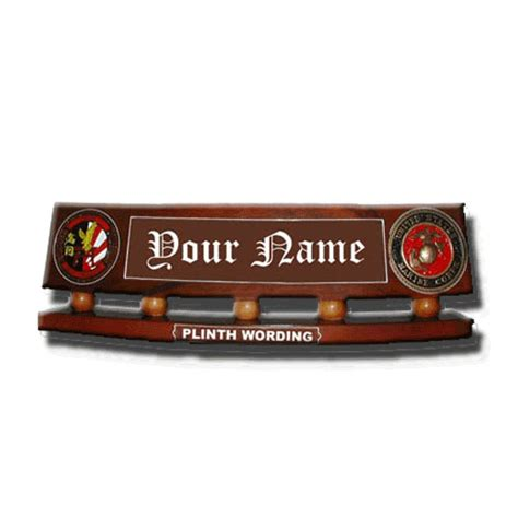 military desk name plates office deluxe desk name plate military plaques awards wooden