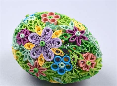 fiori pasquali decorazioni di pasqua fai da te con il quilling