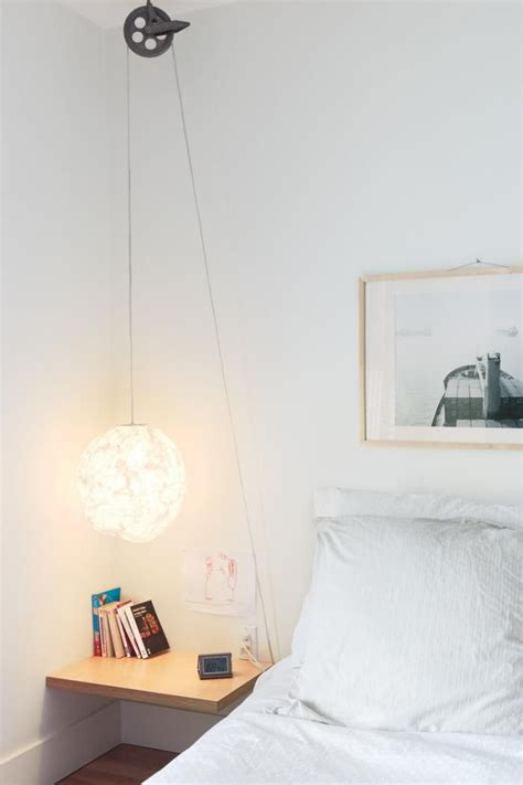 diy industrial bedside pulley l by
