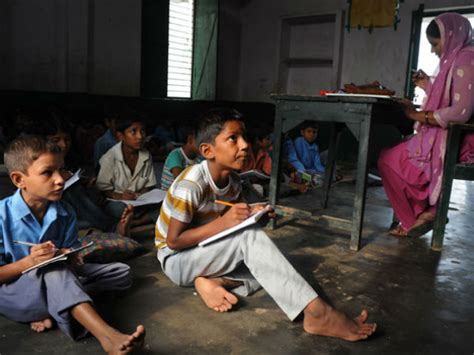 children in indian school who is responsible for poor education system of india Poor