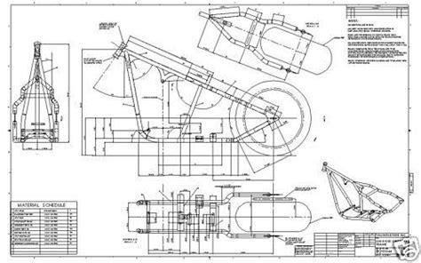 custom blueprints find custom chopper softail harley frame plans blueprint