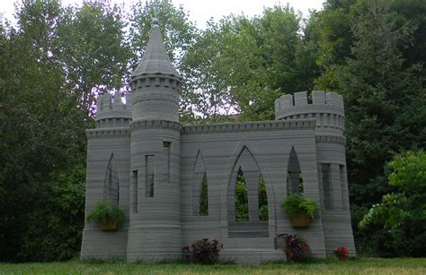 build a small castle world s first 3d printed castle is complete andrey rudenko now to print a full size house