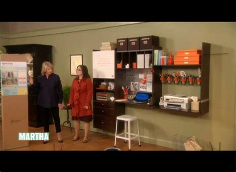 organizing your home office video organize your office martha stewart