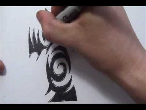 tattoo removal tauranga cross tattoos drawing a cool tribal tattoo design youtube