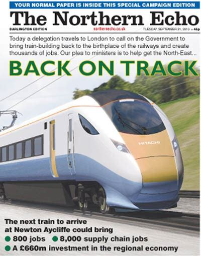 supplement xpress northeast echo steps up trains caign with wraparound journalism