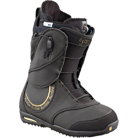 burton boots womens burton supreme snowboard boots s demo 2012 evo
