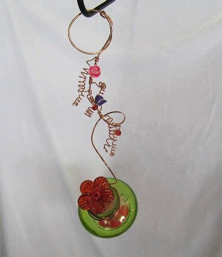 Handmade Hummingbird Feeder -