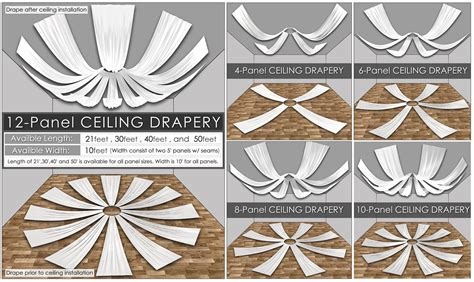 Pipe And Drape Kits Wholesale Voile Ceiling Drape Collection Urquid Linen