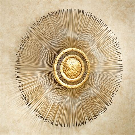 gold sunburst wall decor sunburst metal wall sculpture by jasonw studios