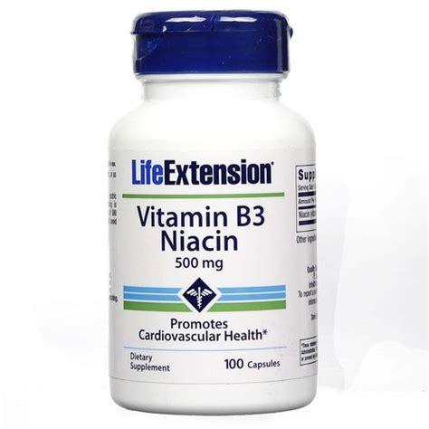 Vitamin B3 And Showers Detox by Buy Extension Vitamin B3 Niacin 500 Mg 100 Caps India