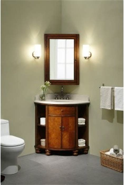 xylem carlton corner single bathroom vanity with optional
