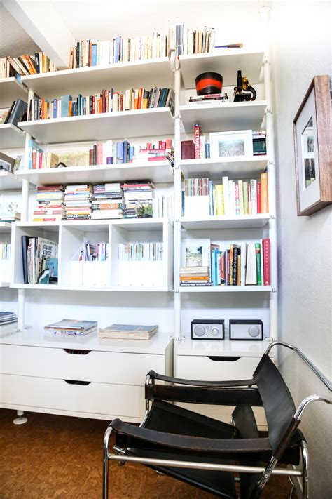 ikea bookshelves hack hither thither