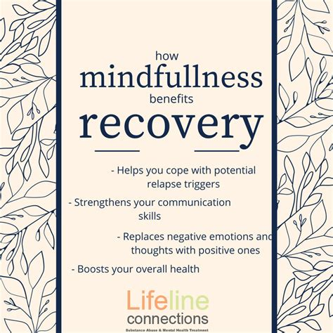 Lifeline Connections Detox Phone Number by 4 Ways Mindfullness Benefits In Mental Health Substance