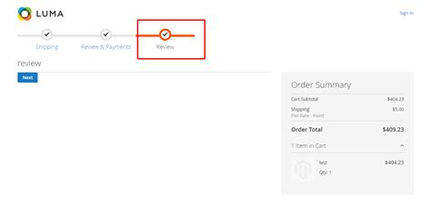 magento   move place order button  review payments  custom step  magento