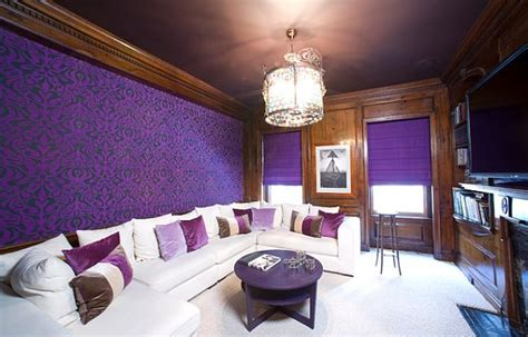 purple wallpaper for bedrooms how to decorate with purple in dynamic ways