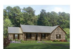 ranch homes designs eplans ranch house plan hill country split bedroom