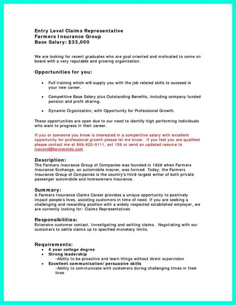 Allstate Insurance Adjuster Sle Resume by The World S Catalog Of Ideas