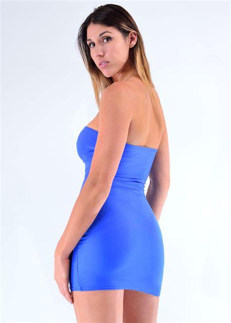 cosmopolitan strap mini dress strapless dress