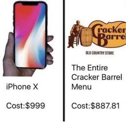 Make A Meme Iphone - iphone memes what can you buy for the price of an iphone x