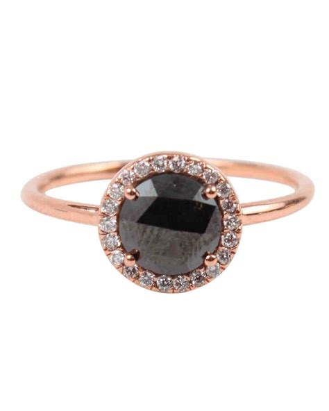 Black Engagement Rings by The New Lbd The Black Engagement Ring