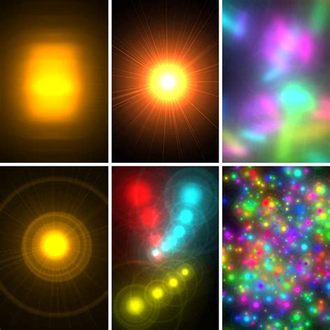Quick And Extremely Easy Glowing Lights Photoshop Brushes Photoshop Lights