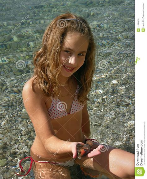 very young little girl models blog girl and fish in sea stock photo image of catch diving