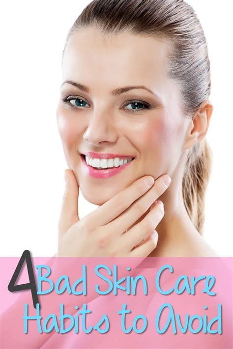 Bad Skin While Detoxing by 4 Bad Skin Care Habits To Avoid Pin Your Best Hair