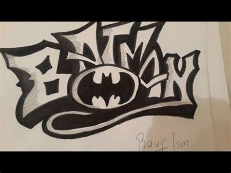 graffiti  batman cizimi youtube