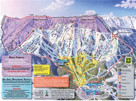 map of us ski area top 5 the best the radar ski resorts in