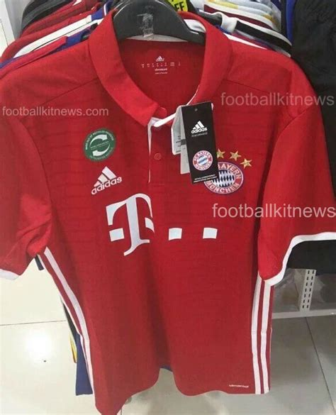 Jersey Bayern Munchen Home Go New Season 2017 18 Grade Ori leaked bayern munich home kit for 2016 17 football kit news new soccer jerseys