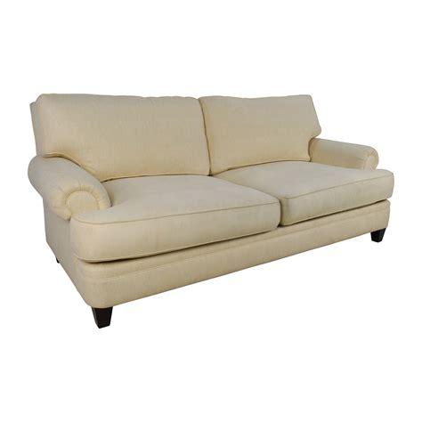 henredon sofa 83 off henredon henredon fireside short beige 3 seater