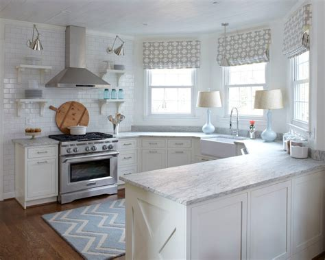 Soapstone Table Andromeda White Granite Kitchen Transitional With Chevron